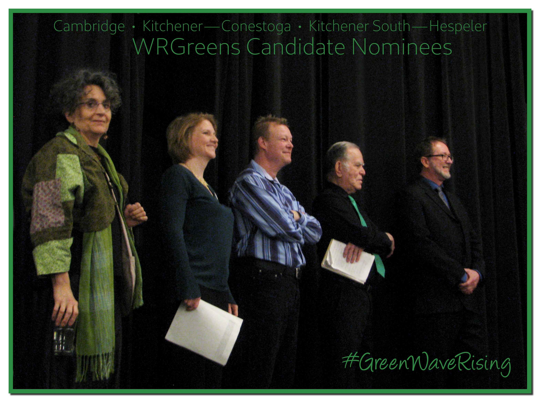 Cambridge, Kitchener—Conestoga and Kitchener South—Hespeler Candidate Nominees